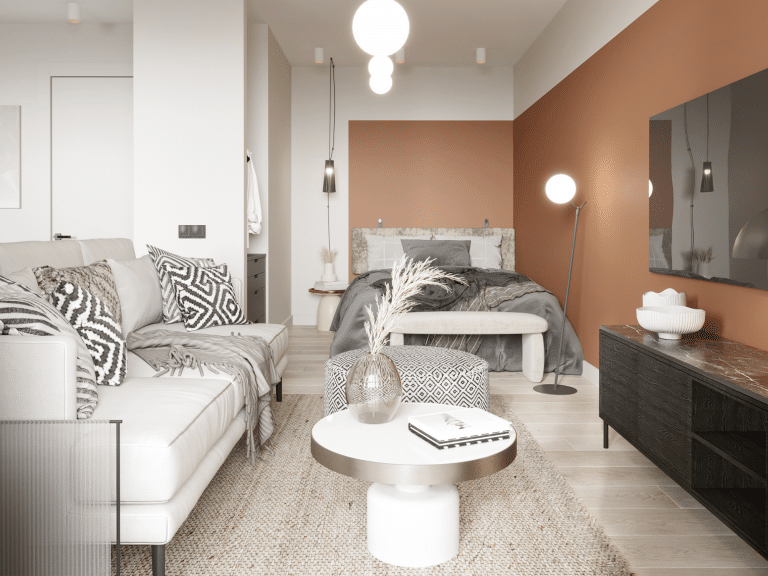 jaunais projekts Harmony Home Teika dzīvoklis